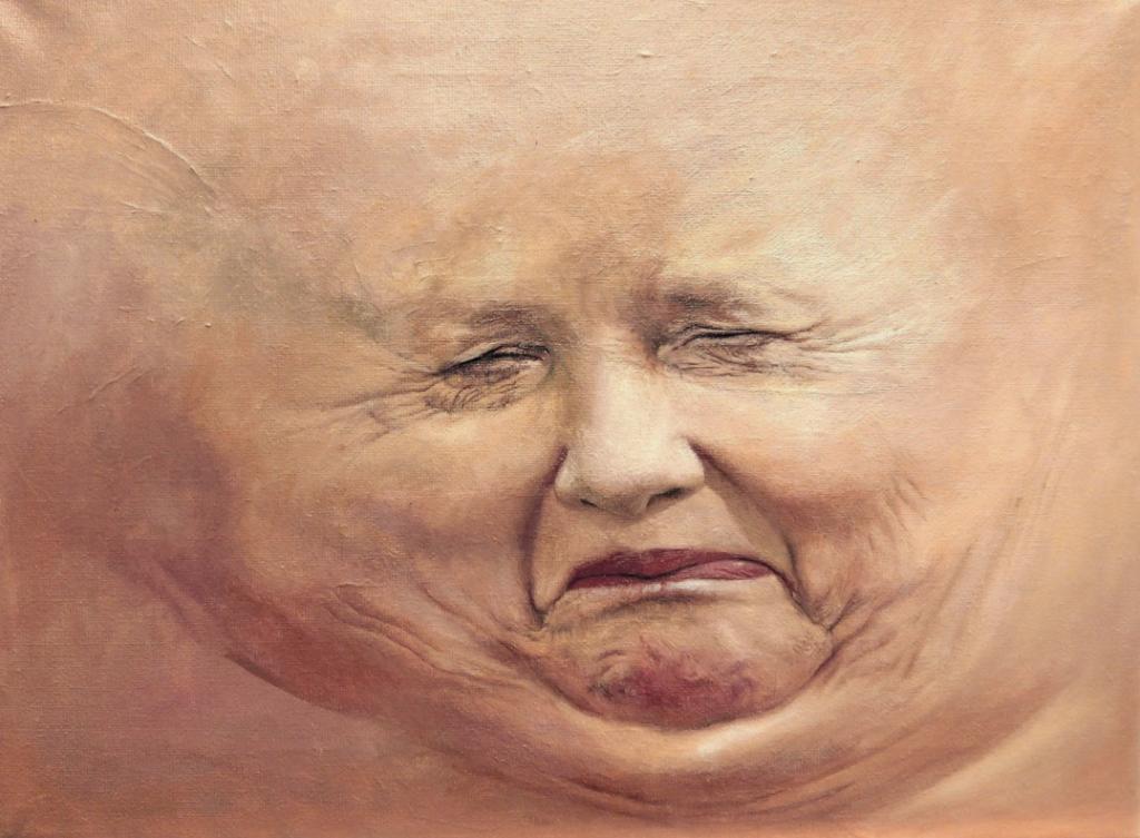 """Skincapes: Trozos de carne: Ángela Merkel."