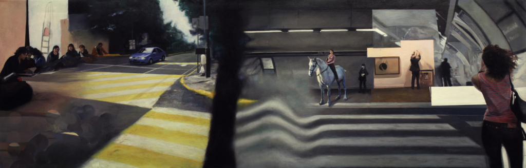 """Ficción urbana III"" Erick Miraval."
