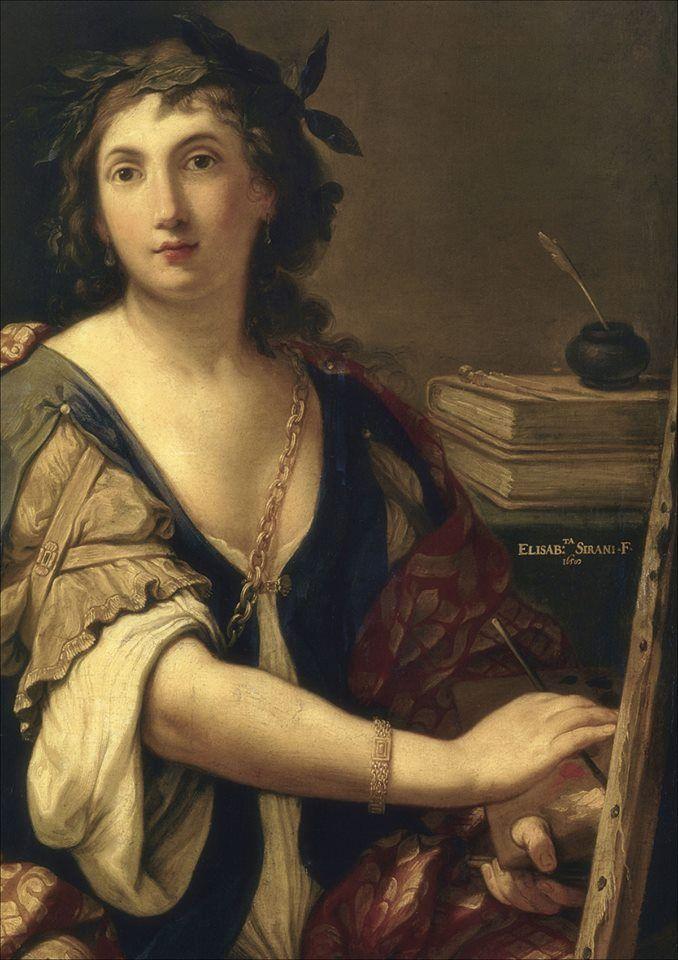 Autorretrato de Elisabetta Sirani.