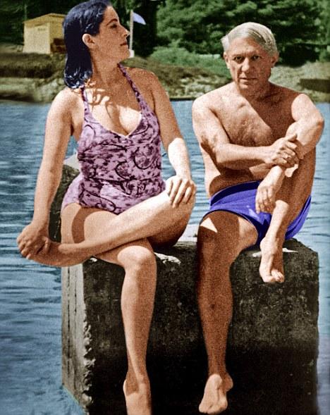 Pablo Picasso y Dora Maar.
