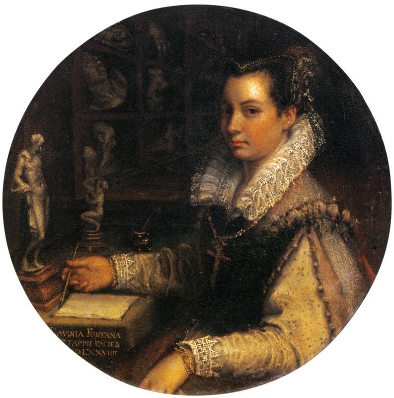 Autorretrato de Lavinia Fontana.