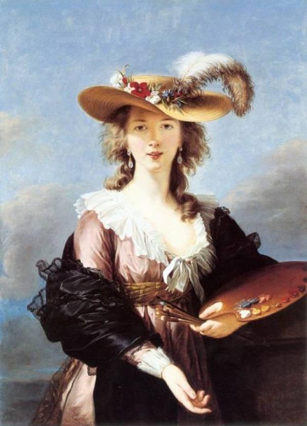 Autorretrato de Marie-Louise-Élisabeth Vigée-Lebrun, expuesto en la National Portrait Gallery de Londres.