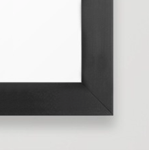 black frame for reproduction