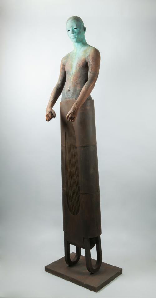 Sentinel II |Escultura de Jesús Curiá | Compra arte en Flecha.es