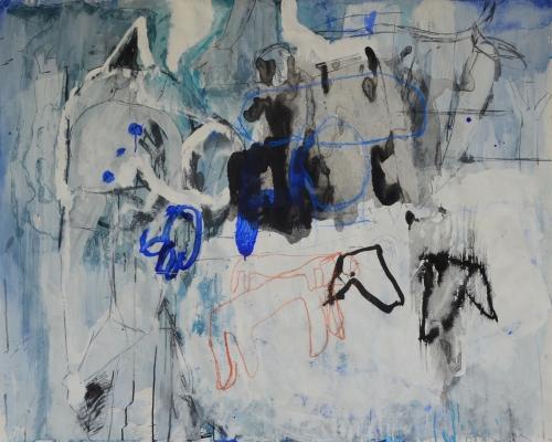 El Señor y la Señora Andrews II |Pintura de Celia Muñoz | Compra arte en Flecha.es