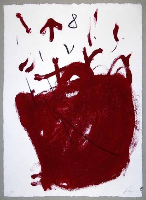 Carmí 8. |Obra gráfica de Antoni Tàpies | Compra arte en Flecha.es