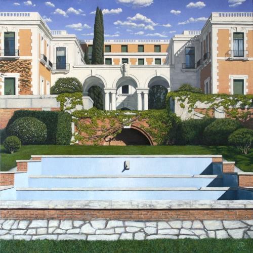 Casa de Velázquez |Pintura de Javier Ramos Julián | Compra arte en Flecha.es