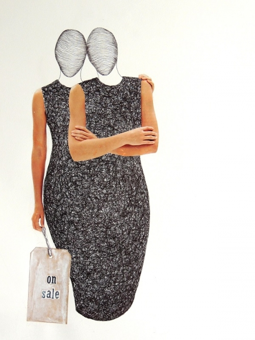 On Sale |Collage de Merche Chia | Compra arte en Flecha.es