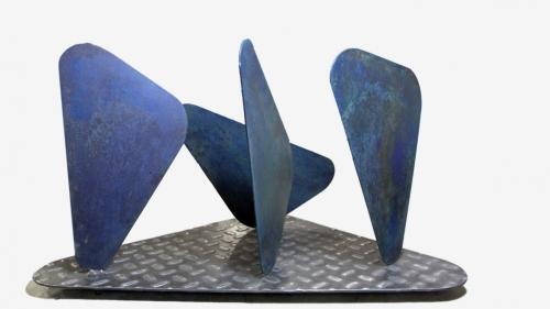 Monolitos I  Escultura de Raquel Fernández Santos   Compra arte en Flecha.es