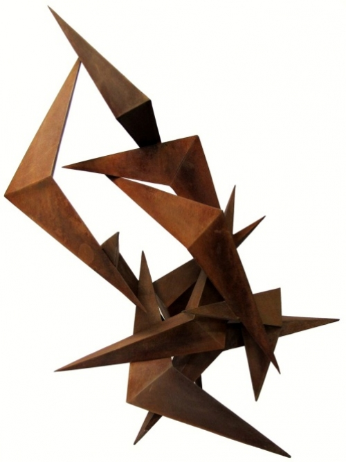Grullas por Fukushima |Escultura de Raquel Fernández Santos | Compra arte en Flecha.es