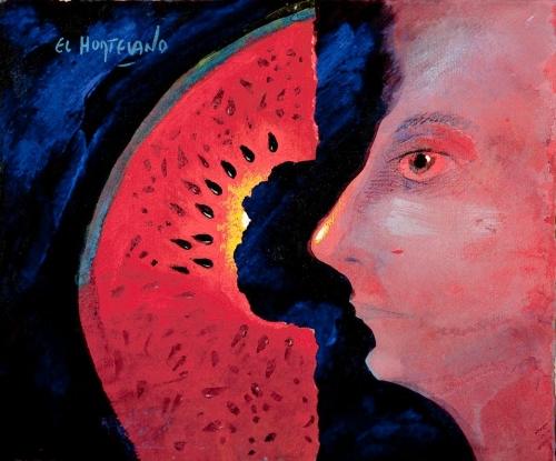 Aventuras para el Ojo (5) |Pintura de El Hortelano | Compra arte en Flecha.es