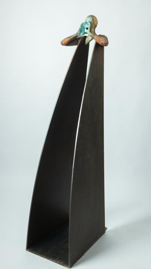 Grito |Escultura de Jesús Curiá | Compra arte en Flecha.es