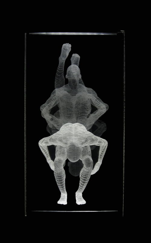 Muybridge  - Pirueta |Dibujo de David Ortega | Compra arte en Flecha.es