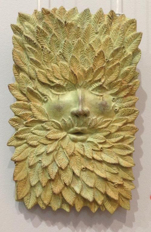 Green Man |Escultura de Cristóbal | Compra arte en Flecha.es