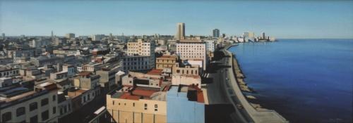 La Habana |Pintura de Borja Abós | Compra arte en Flecha.es