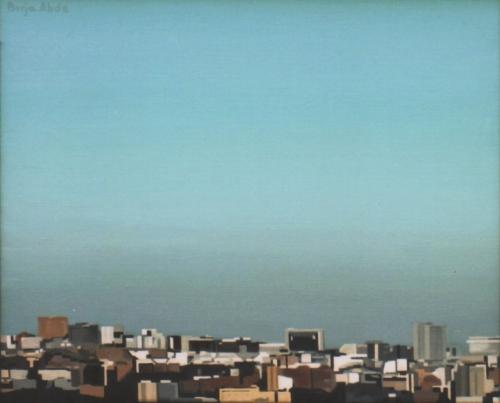 Madrid 1/2 |Pintura de Borja Abós | Compra arte en Flecha.es