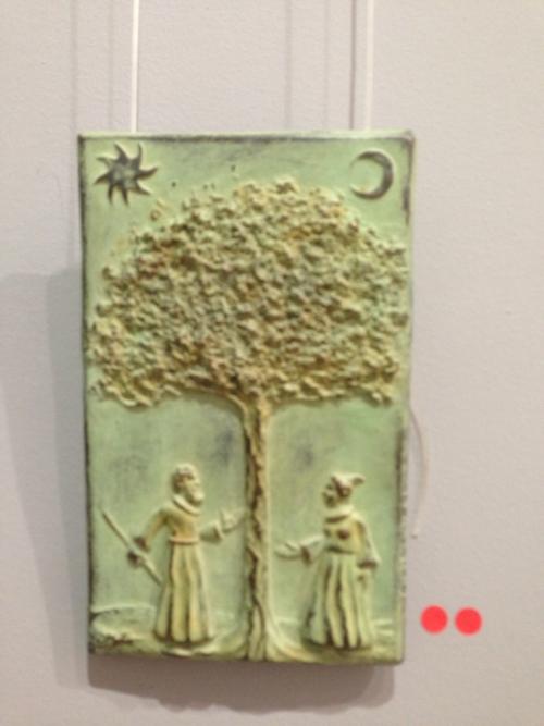 El Árbol del Conocimiento |Escultura de Cristóbal | Compra arte en Flecha.es