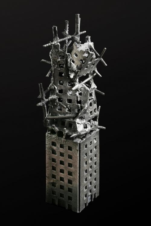 Destrucción en Serie IV |Escultura de Fernando Suárez | Compra arte en Flecha.es
