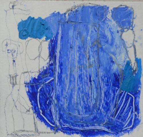 El Señor y la Señora Andrews (cartón VII) |Pintura de Celia Muñoz | Compra arte en Flecha.es