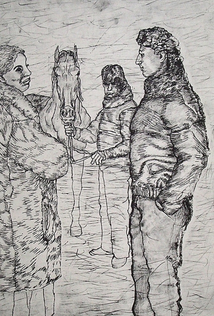 Sin título |Obra gráfica de Antonio Maya | Compra arte en Flecha.es