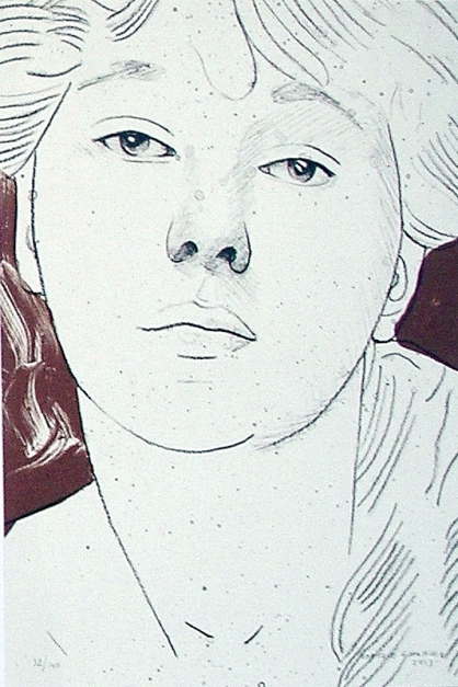 Retrato I |Obra gráfica de Enrique González (TDP) | Compra arte en Flecha.es