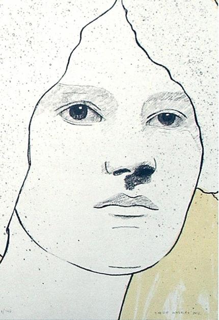 Retrato II  Obra gráfica de Enrique González (TDP)   Compra arte en Flecha.es