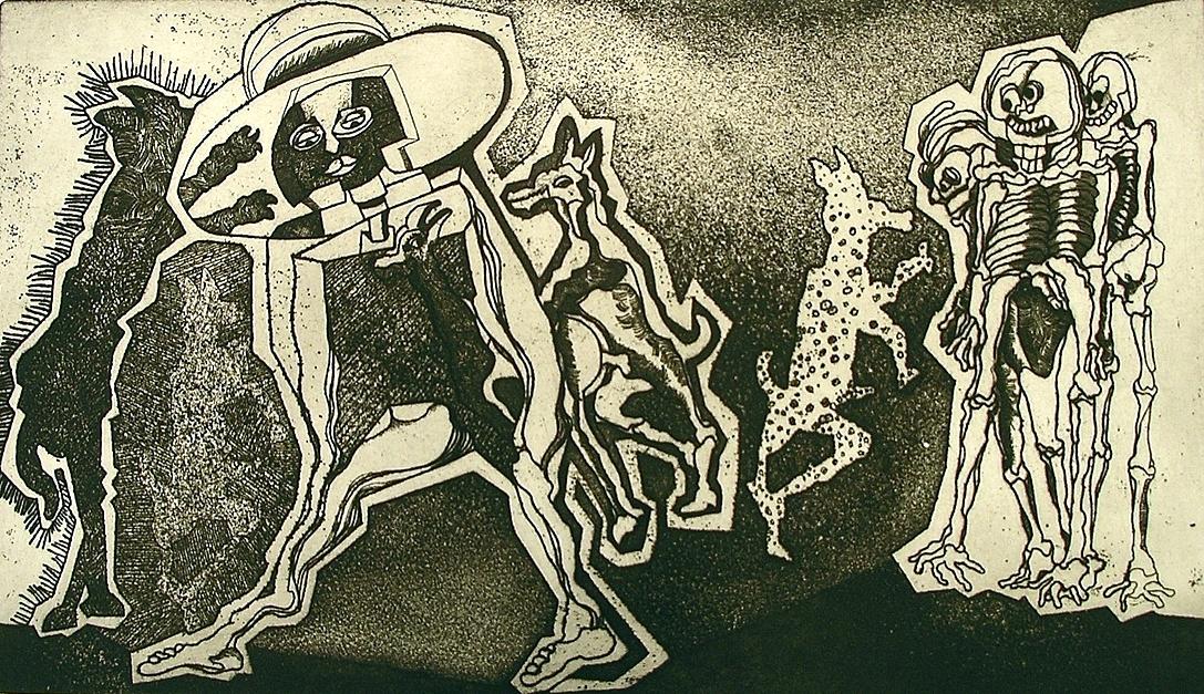 Teradispa |Obra gráfica de Julio Zachrisson | Compra arte en Flecha.es