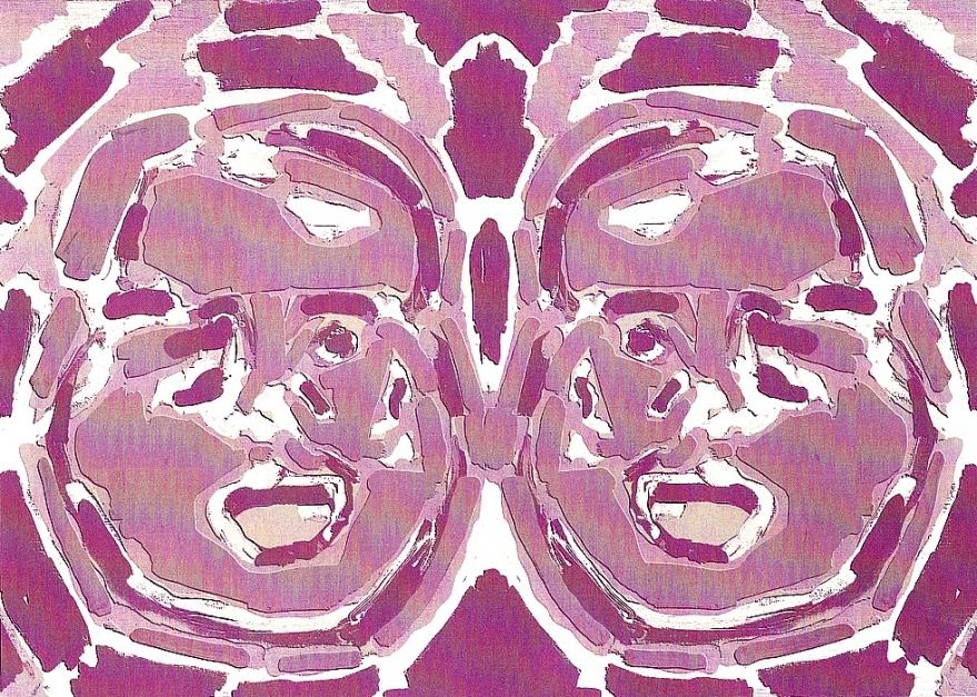 Alucinados I |Obra gráfica de Luis Gordillo | Compra arte en Flecha.es