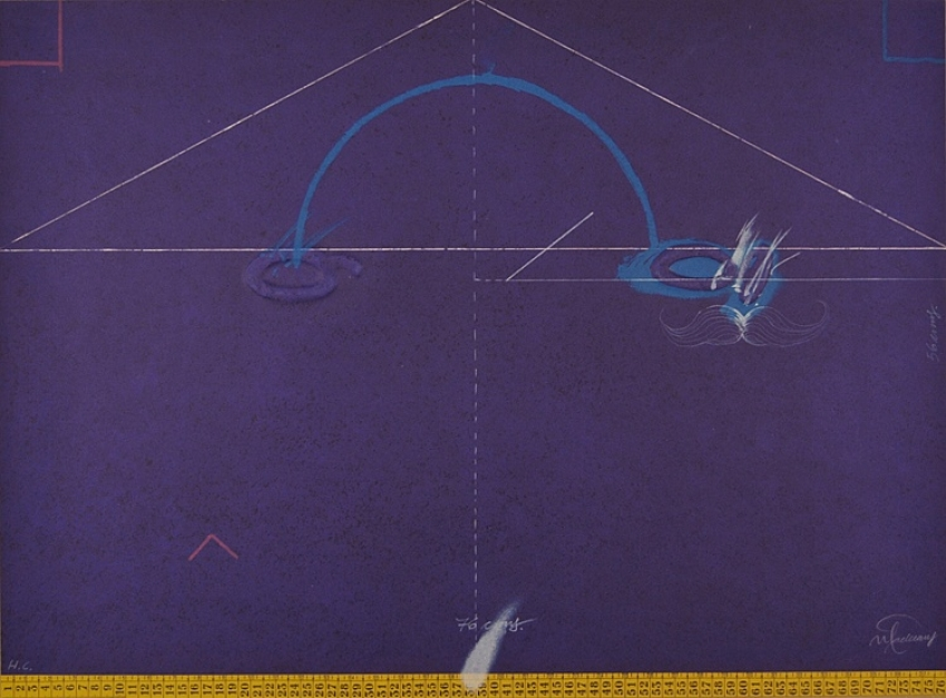 Entrebancs-6 |Obra gráfica de Joan Pere Viladecans | Compra arte en Flecha.es
