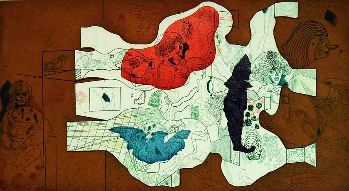 La Visión de un Niño |Obra gráfica de Jorge Castillo | Compra arte en Flecha.es