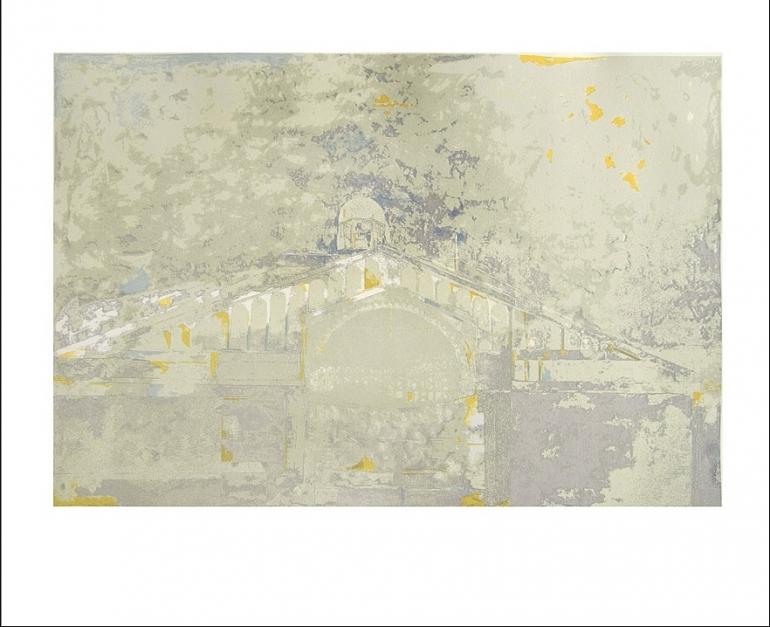 Mercado de Borne (versión 2) |Obra gráfica de Jorge Castillo | Compra arte en Flecha.es