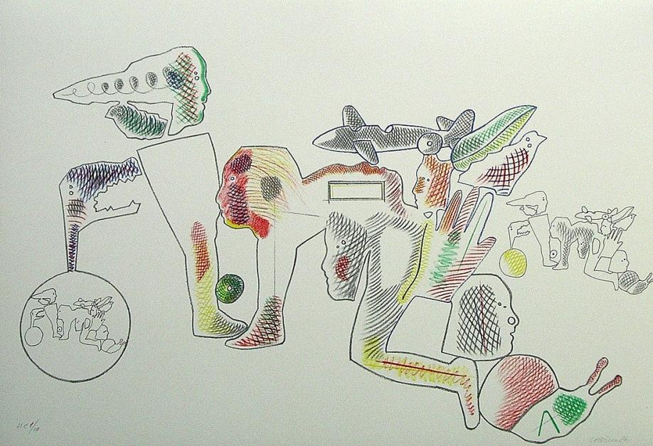 Sin título |Obra gráfica de Jorge Castillo | Compra arte en Flecha.es