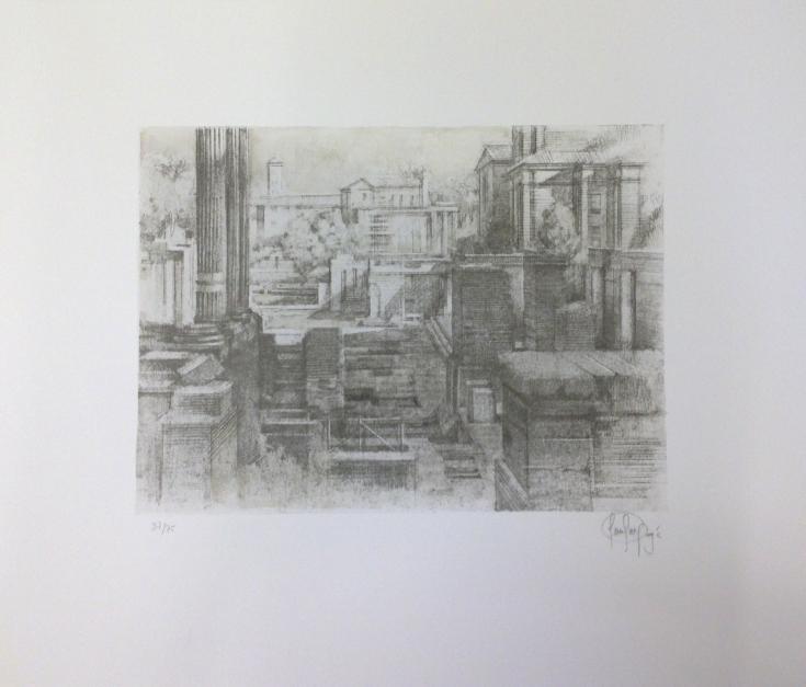 Foro di Cesari |Obra gráfica de Luis Javier Gayá | Compra arte en Flecha.es