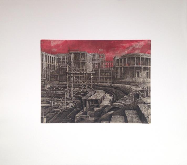 Stadi dei Marmi |Obra gráfica de Luis Javier Gayá | Compra arte en Flecha.es