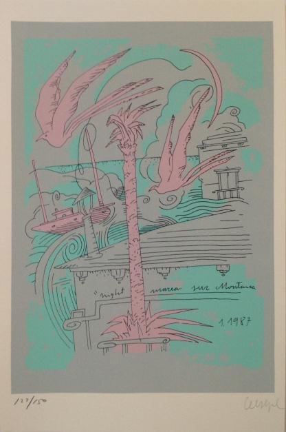 Escenas (II) |Obra gráfica de Ceesepe | Compra arte en Flecha.es