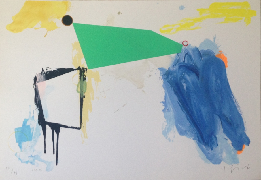 Verde |Obra gráfica de Joaquín Capa | Compra arte en Flecha.es