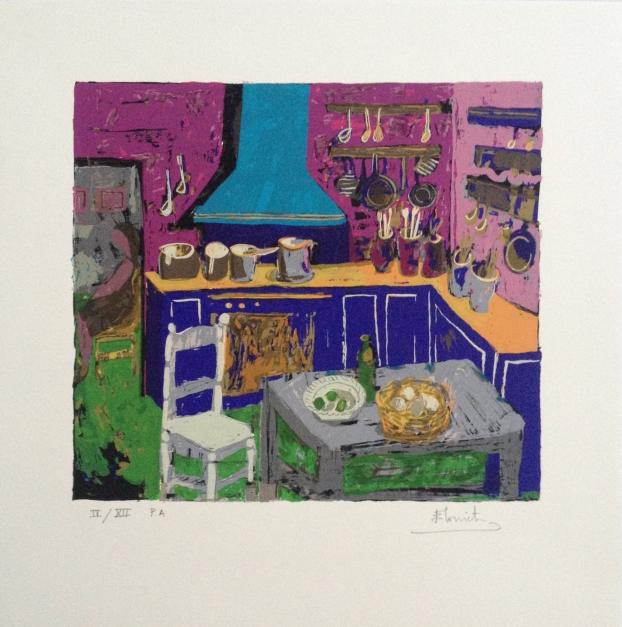 La Cocina |Obra gráfica de Belén Elorrieta | Compra arte en Flecha.es