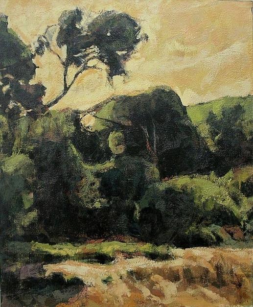 Pinos del Saler |Pintura de Jorge Pedraza | Compra arte en Flecha.es