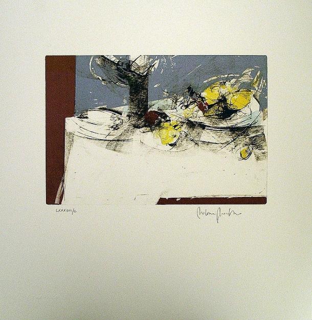 Bodegón |Obra gráfica de Francisco Molina | Compra arte en Flecha.es
