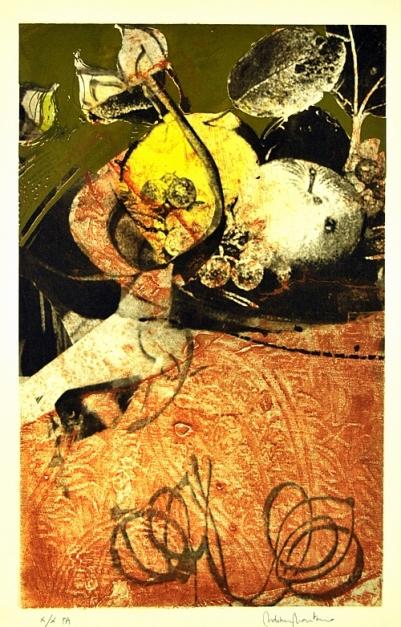 Homenaje a Caravaggio II |Obra gráfica de Francisco Molina | Compra arte en Flecha.es