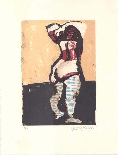 Figura femenina |Obra gráfica de Juan Alcalde | Compra arte en Flecha.es