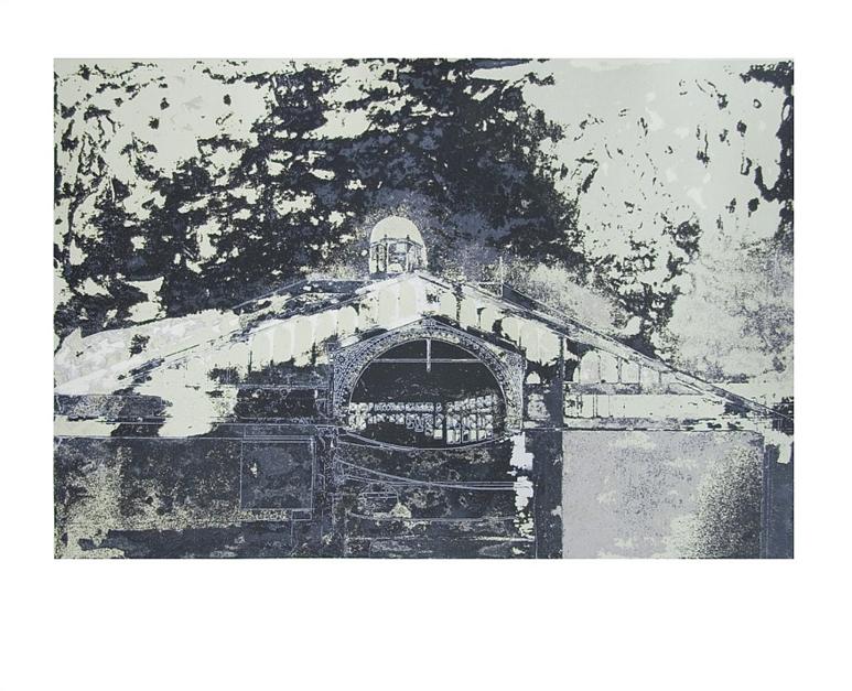 Mercado de Borne (versión 1) |Obra gráfica de Jorge Castillo | Compra arte en Flecha.es