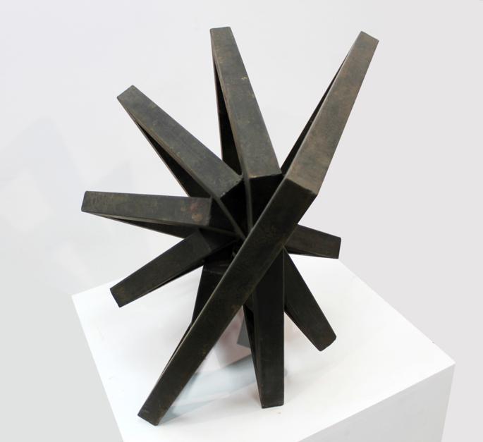 Contenida | Escultura de Carlos I.Faura | Compra arte en Flecha.es
