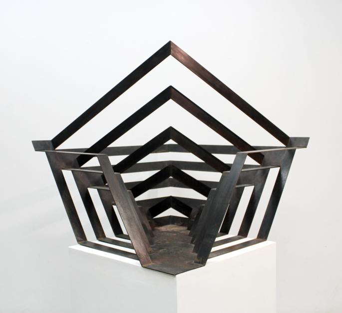 Entra y fuga |Escultura de Carlos I.Faura | Compra arte en Flecha.es