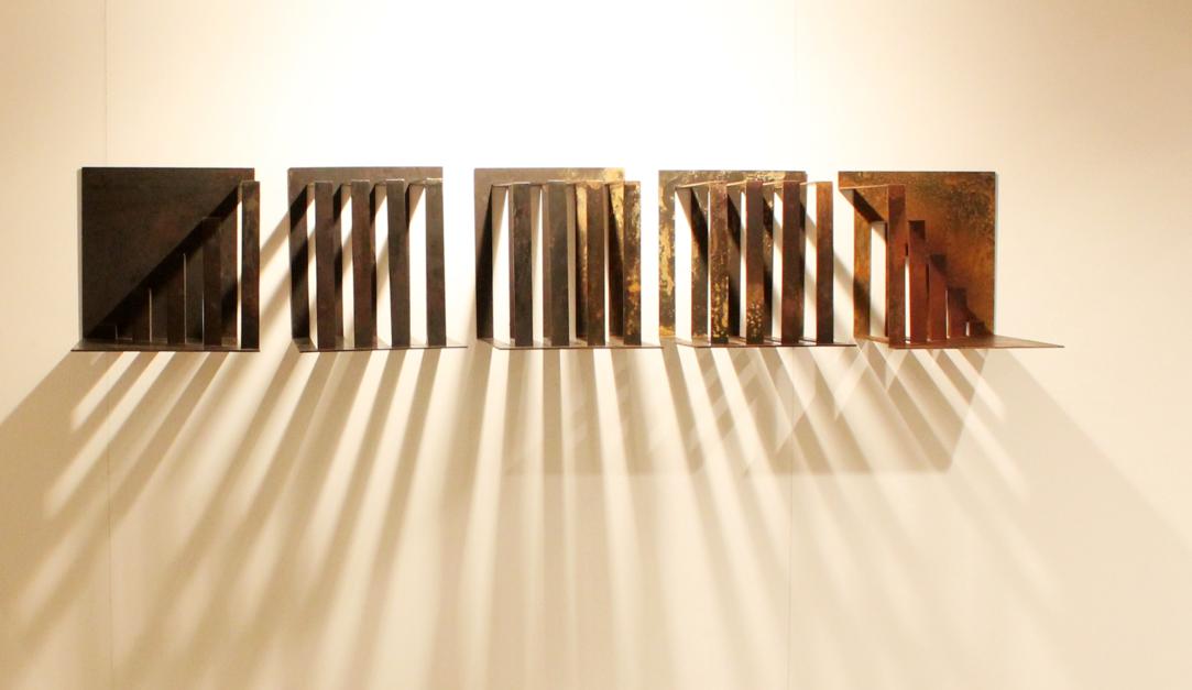 Repetición vs Movimiento |Escultura de Carlos I.Faura | Compra arte en Flecha.es