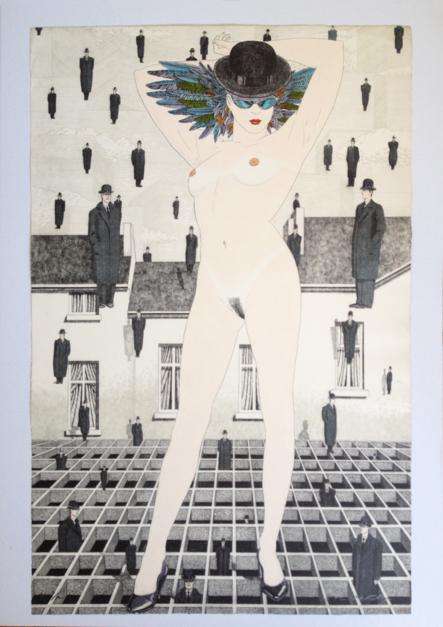 Serie Desnudos III |Obra gráfica de Fernando Bellver | Compra arte en Flecha.es