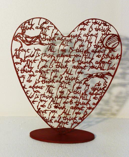 Desde el Corazón 9 |Escultura de Krum Stanoev | Compra arte en Flecha.es
