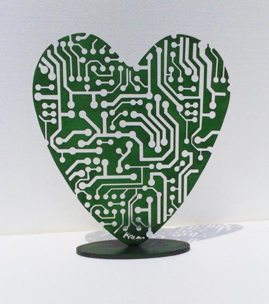 Desde el Corazón 10 |Escultura de Krum Stanoev | Compra arte en Flecha.es
