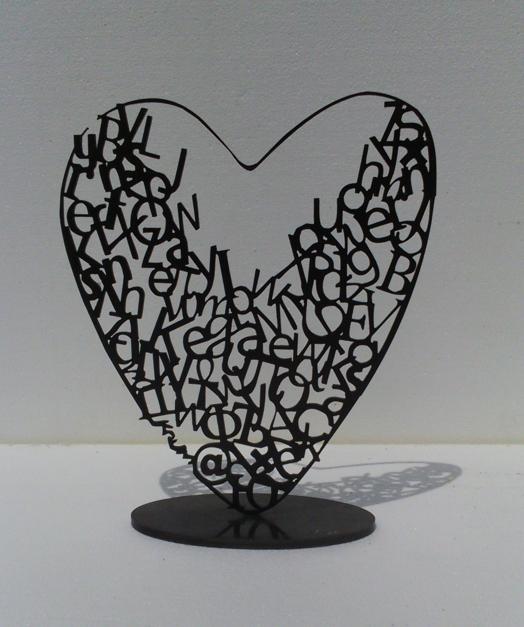 Desde el Corazón 12  Escultura de Krum Stanoev   Compra arte en Flecha.es