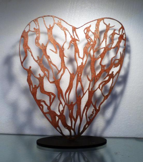 Desde el Corazon 1 |Escultura de Krum Stanoev | Compra arte en Flecha.es